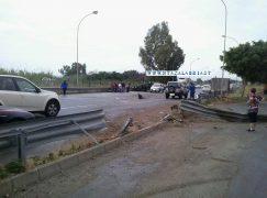 Saline Joniche, incidente sulla SS 106 (FOTO)