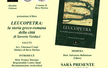 """Bova Marina, presentazione del libro """"Leucopetra"""""""