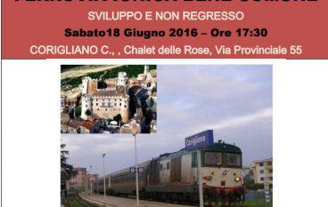 Corigliano Calabro, ferrovia ionica: continua la mobilitazione