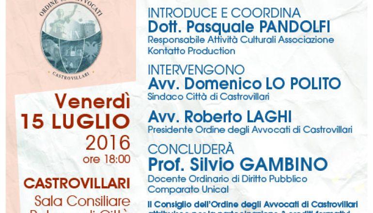 Castrovillari, dibattito su i 70 anni della Repubblica