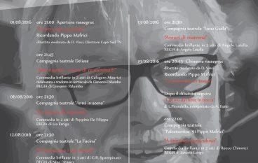 Condofuri, una rassegna teatrale in ricordo di Pippo Mafrici