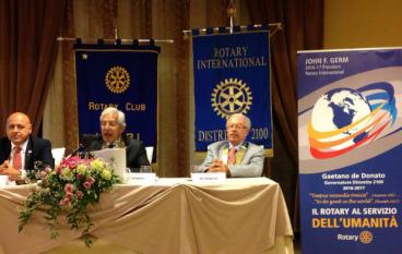 Locri, Giovanni Condemi nuovo presidente del Rotary Club