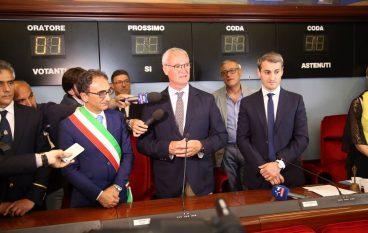 Catanzaro, conferita cittadinanza onoraria a Claudio Ranieri