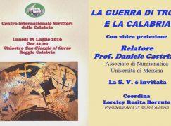 """Reggio, Cis promuove """"La guerra di Troia e la Calabria"""""""