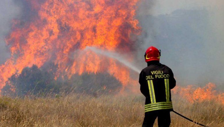 Campagna antincendio, intesa tra Regione e Vigili del Fuoco