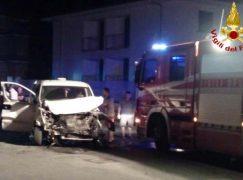 Locri, incidente tra SUV e furgone: 7 feriti