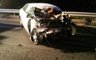 Rossano, scontro tra auto e autobus: un morto