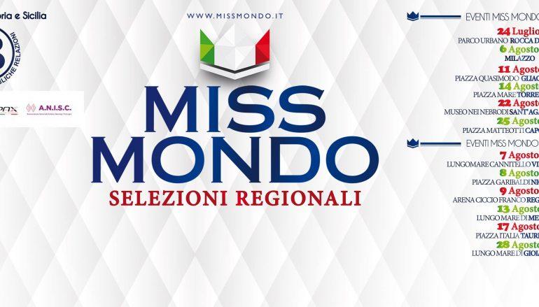 Miss Mondo Calabria, casting a Melito Porto Salvo