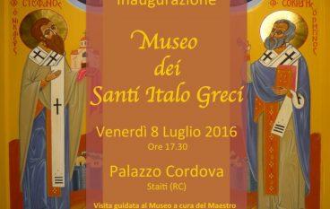 Staiti, inaugurazione del Museo dei Santi Italo-Greci