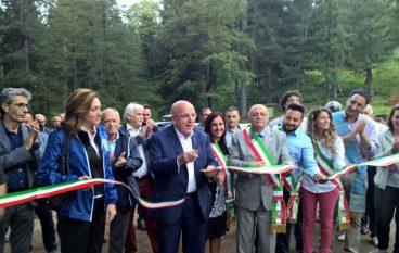 """Inaugurato il Parco Avventura """"Principe"""" di Petilia Policastro"""