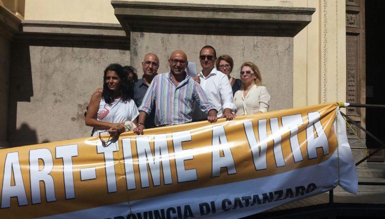 Catanzaro, la protesta di 17 part-time del Centro Impiego