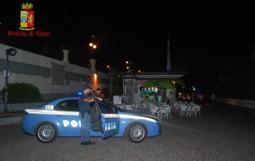 """Reggio, vigilanza Polizia presso lungomare """"Italo Falcomatà"""""""