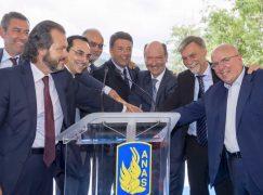 A3, inaugurato Viadotto Italia con il Premier Renzi