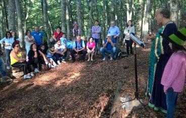 """Gambarie, grande successo per l'iniziativa """"Bosco Parlante"""""""