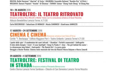 """Al via la kermesse """"Lamezia Summertime 2016"""""""