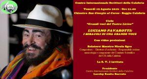Manifesto - Luciano Pavarotti