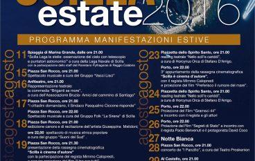 Scilla, programma Estate 2016