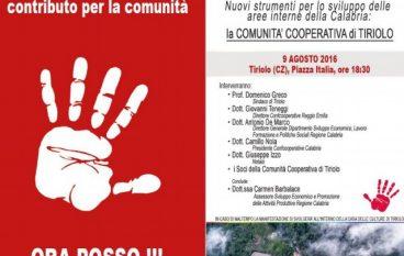 Tiriolo (CZ), la presentazione della nuova Comunità Cooperativa
