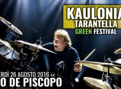 Kaulonia Tarantella Festival, venerdì sul palco Tullio de Piscopo