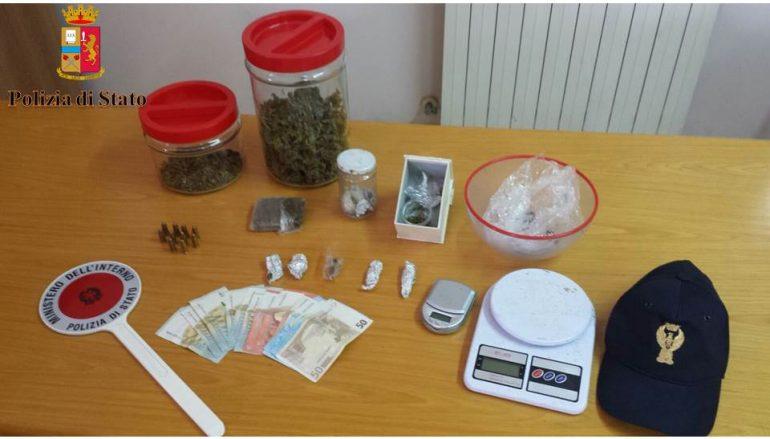 Polistena, arrestato giovane per detenzione illegale di marijuana
