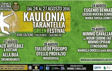 Caulonia (RC), al via il Festival della Tarantella