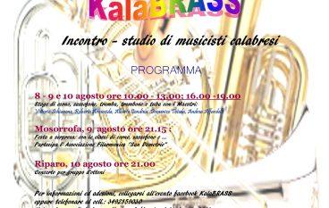 """""""KalaBRASS"""", incontro-studio per musicisti a Reggio"""