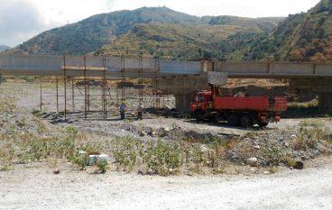 """Ponte di Paterriti, Falcomatà: """"Procediamo al completamento dei lavori"""""""