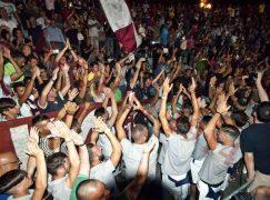 Reggina, Arena Ciccio Franco stracolma per presentazione squadra