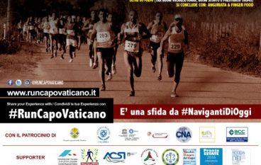 """Al via la quarta edizione della """"Run Capo Vaticano"""""""