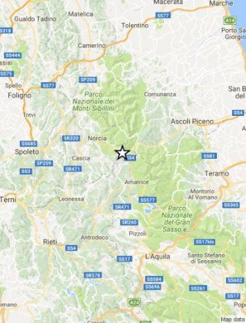 Violento terremoto di magnitudo 6 nel centro Italia