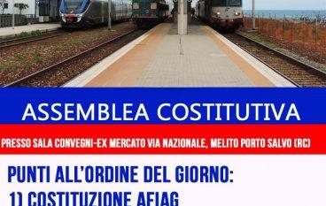 Melito Porto Salvo, Assemblea per salvare la Ferrovia Ionica