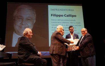 A Filippo Callipo  il Premio Galvanina 2016 per l'imprenditoria