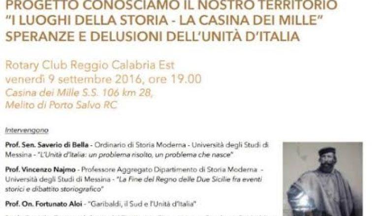 Melito, il Rotary promuove dibattito sull'Unità d'Italia