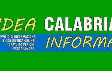 """Al via """"Idea Calabria Informa"""": servizio gratuito per chi cerca lavoro"""