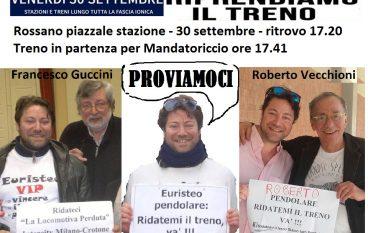 """I pendolari Jonici si riprenderanno la ferrovia con un """"pacifico"""" assalto ai treni"""