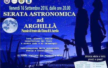 Ad Arghillà una serata astronomica alla scoperta delle stelle