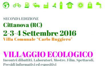 Cittanova, al via la seconda edizione del Villaggio Ecologico