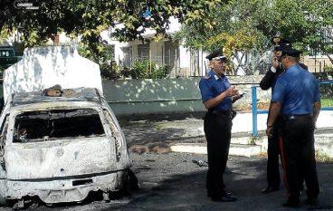 Satriano, incendio a veicolo della Polizia Municipale: preso il colpevole