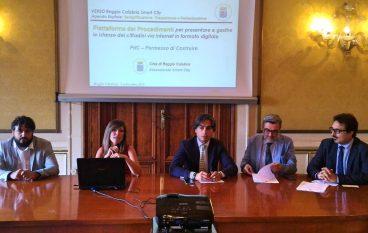 Reggio Calabria, parte il primo procedimento online di Urbanistica