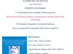 Bova, presentazione Storia di Suor Diomira Pugliese