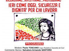 Condofuri, commemorazione in memoria di Carmela Oliveri