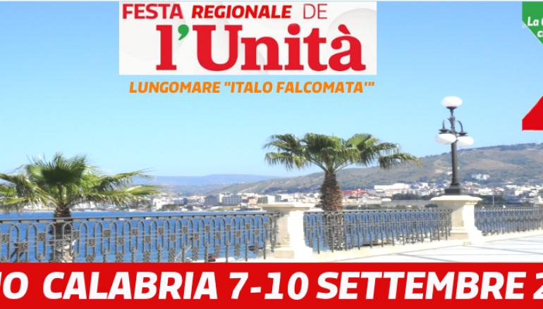 A Reggio tutto pronto per la Festa dell'Unità 2016