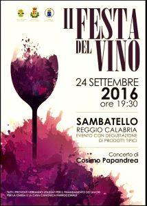 festa vino sambatello