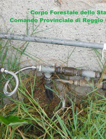 Santa Venere, 2 denunce per furto d'acqua dall'acquedotto comunale