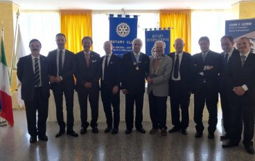 Intimidazione a Bombino, la solidarietà del Rotary