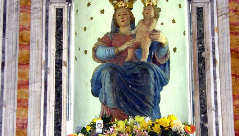 """Polsi, il """"miracolo"""" della strada e la Festa della Madonna della Montagna"""