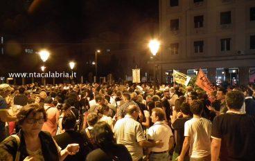 Le foto della marcia silenziosa a Melito di Porto Salvo
