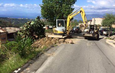 Mosorrofa (RC), al via i lavori per la messa in sicurezza dei siti stradali
