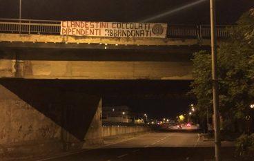 """Casapound Reggio: """"Clandestini coccolati Dipendenti abbandonati"""""""