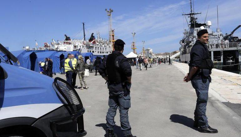 Brancaleone, sbarco notturno di 30 migranti